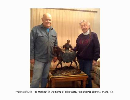 """To Market"" with collectors Ron & Pat Bennett, Plano, TX"
