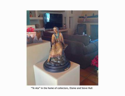 """Ta Ata"" with collectors Elaine & Steve Hull"