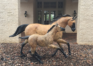 One and One Half Horse Power (life size)