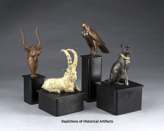 Depictions of historical artifacts