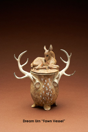 Dream Urn, Fawn Vessel