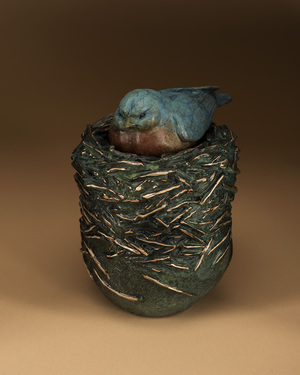 Dream Urn, Blue Bird of Happiness