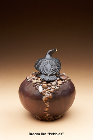 Dream Urn, Pebbles Vessel